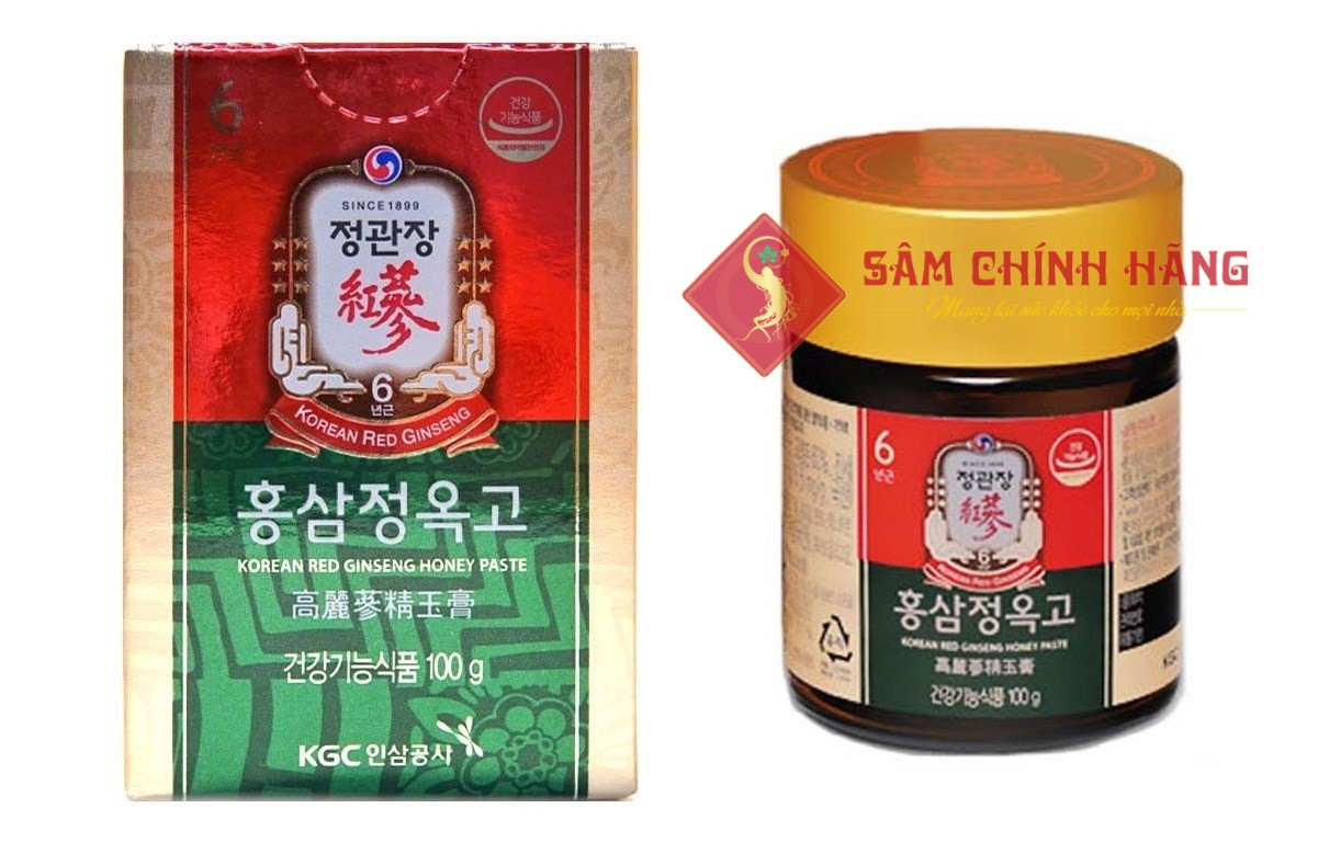 Cao Hồng Sâm Mật Ong (Extract with Honey Paste 100G)